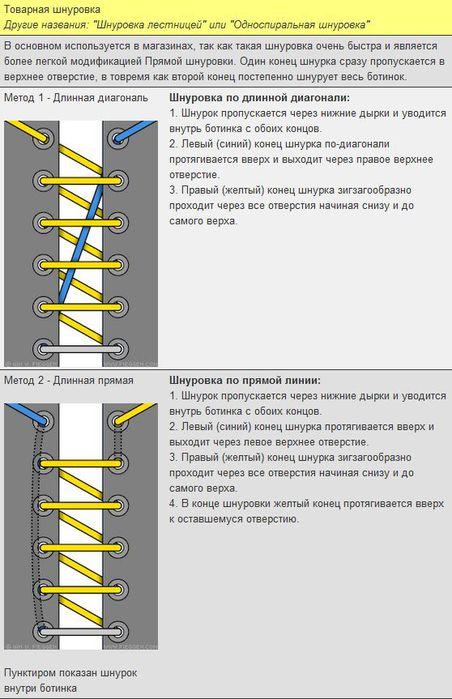 Мастер-класс по художественному завязыванию шнурков:) 38943