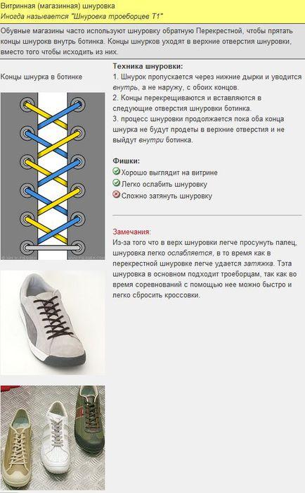 Мастер-класс по художественному завязыванию шнурков:) 75910