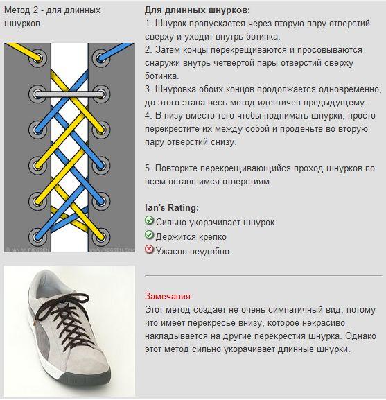 Мастер-класс по художественному завязыванию шнурков:) 33051