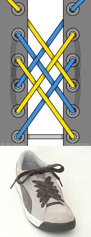 Мастер-класс по художественному завязыванию шнурков:) 65936