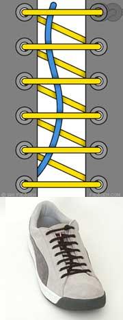 Мастер-класс по художественному завязыванию шнурков:) 21671