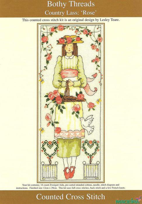 Схемы вышивки крестом от bothy threads