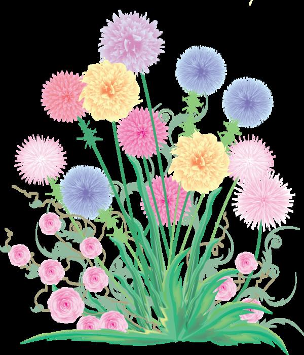 clipart-narisovannye-cvety (600x700, 451Kb)