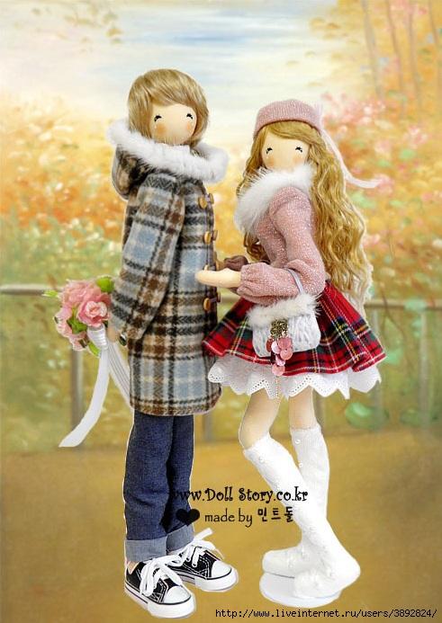 Корейская кукла своими руками 37