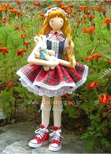 Корейская кукла своими руками мастер класс