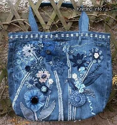 порезать на рукоделие!! столько идей!!! сумочки, например. коврик, связанный из старых джинсов.