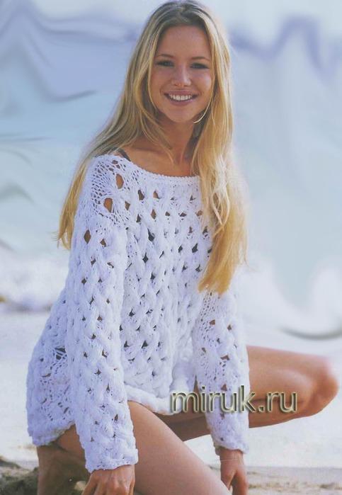 belyj-pulover-s-pletenym-uzorom (483x700, 72Kb)