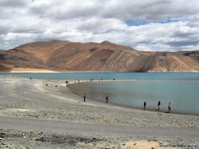Индия, Ладакх, окрестности Леха, озеро Пангонг (3) (700x525, 269Kb)