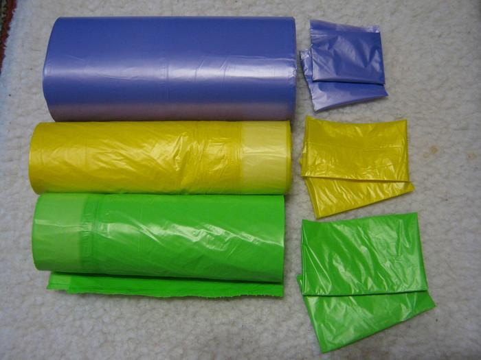 Как сделать мешок для мусора 927