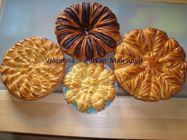 Супер сайт!!!Оформление(разделка) пирогов и булок.Мастер ...