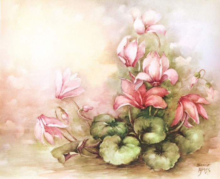 Картинки для декупажа цветы распечатать 8