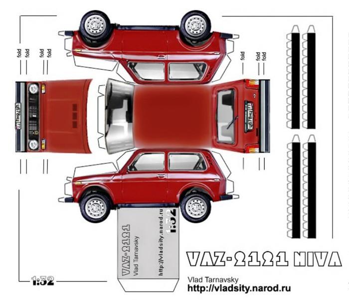 Модель из бумаги : PK Graphica