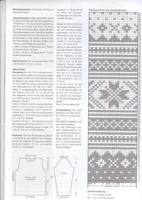 Скандинавские узоры для вязания спицами схемы для мужчин 71