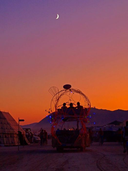Профессиональные фото с фестиваля Burning Man 2011