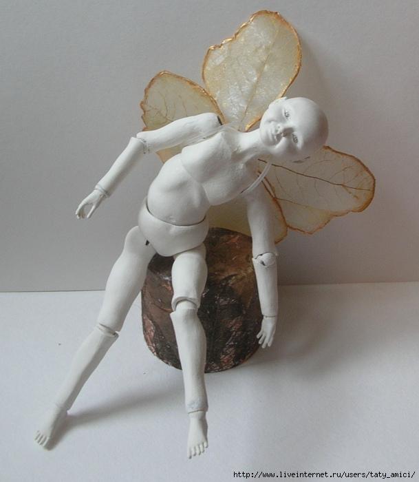 Кукла из папье-маше шарнирная своими руками 93