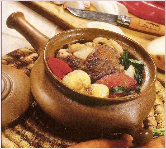 Блюда в горшочках с фото 2
