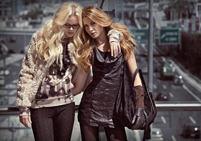 Описание: мода на зиму 2012 для девочек подростков.