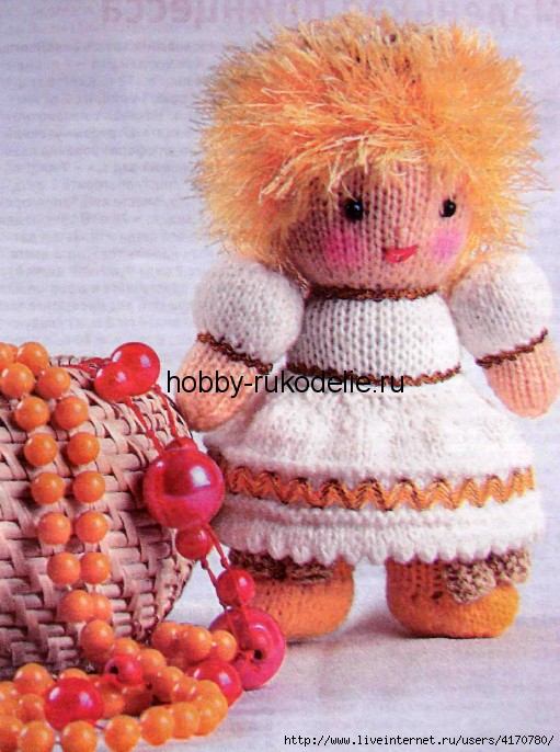 Маленькая принцесса вязание