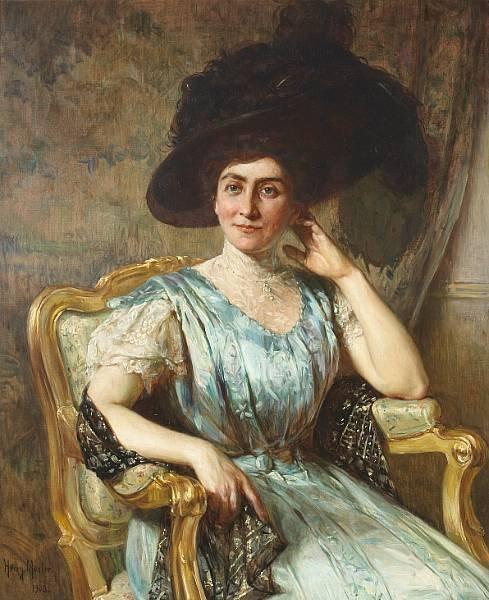 A Portrait of Bertha Marx Adler, 1908 (489x600, 74Kb)