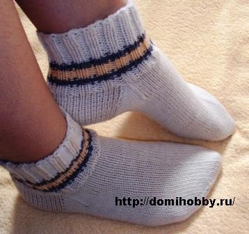 1описание-вязания-носков-спицами (358x336, 37Kb)