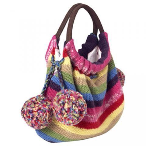 Фотография 6 - Вязаные сумки - Модные сумки - Фотоальбомы - Модные.