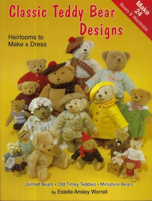 Classic Teddy Bear Designs 00 (531x700, 108Kb)