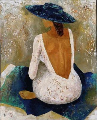 Veronique-Mansart-Femme-au-chapeau-62583[1] (324x400, 27Kb)