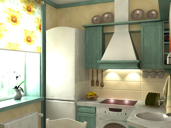 Фото маленькие кухни своими руками