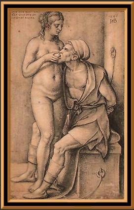 Мужчина целует женскую грудь фото