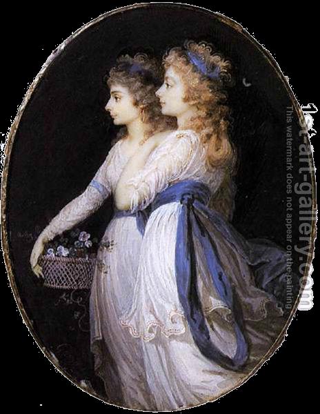Вместе с Элизабет Фостер второй женой своего мужа 1791 г (464x600, 502Kb)