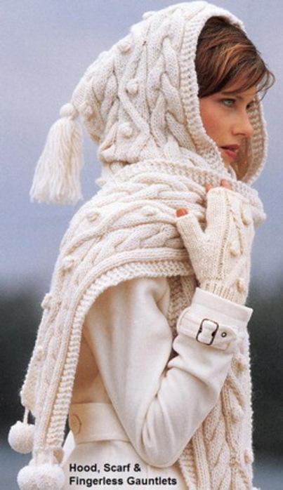 шарф-капюшон (403x700, 84Kb)