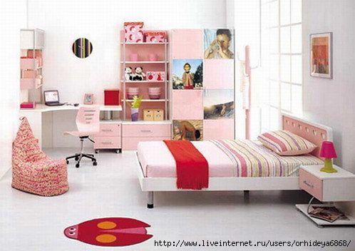 Дизайн детской малогабаритной комнаты.
