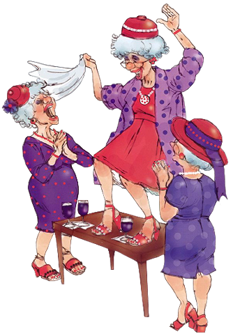 прикольные картинки со старушками: