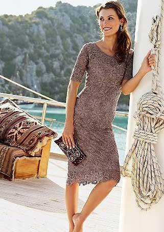 этом замечательном платье!