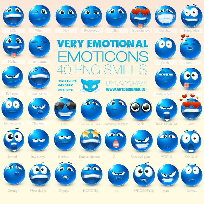 emoticons_by_Lazycrazy (700x700, 233Kb)