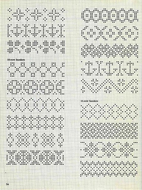 Норвежские узоры для вязания спицами схемы жаккардовые узоры 3
