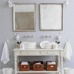 ванная комната в стиле прованс 6.