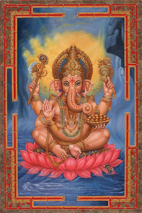3666267_Ganesh_Pink_Lotus