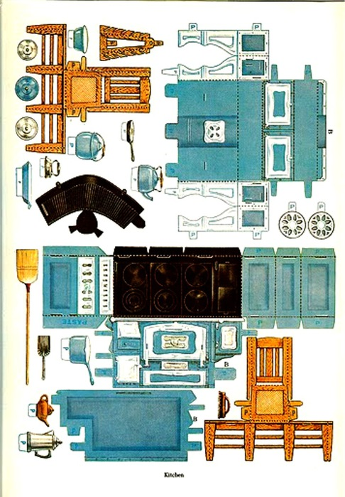 free miniature dollhouse furniture plans | Easy Woodworking Ideas