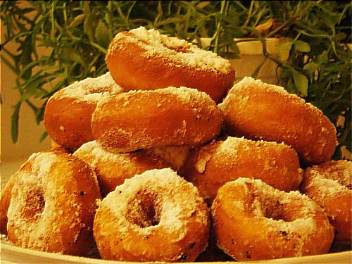 пончики рецепт на кефире с фото