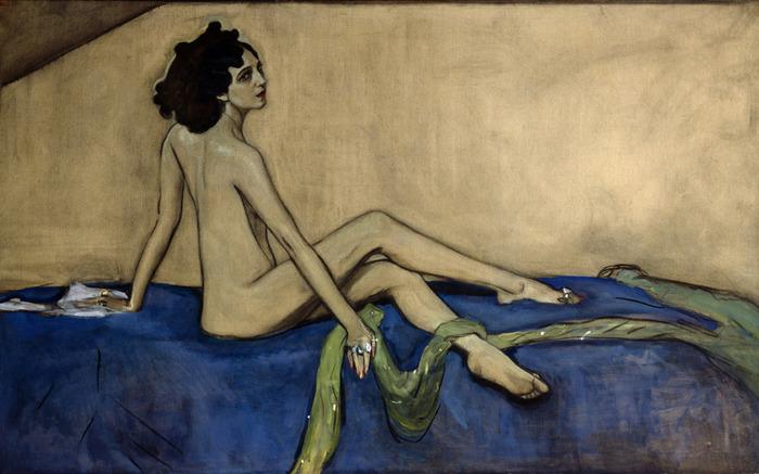 Ida Rubinstein_Valentin Serov, 1910_01 (700x437, 103Kb)