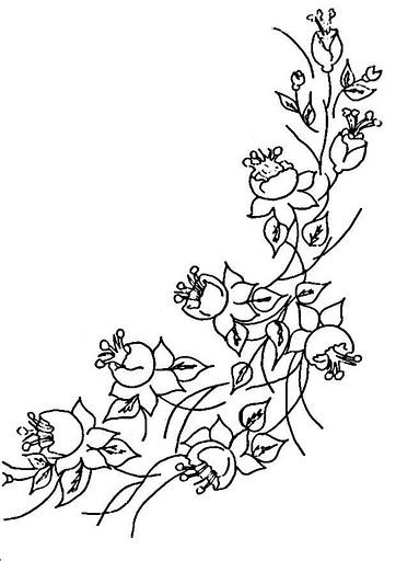 Трафарет-цветы. трафареты
