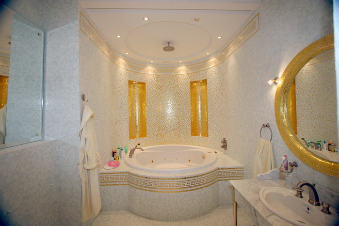 Эконом дизайн ванных комнат фото
