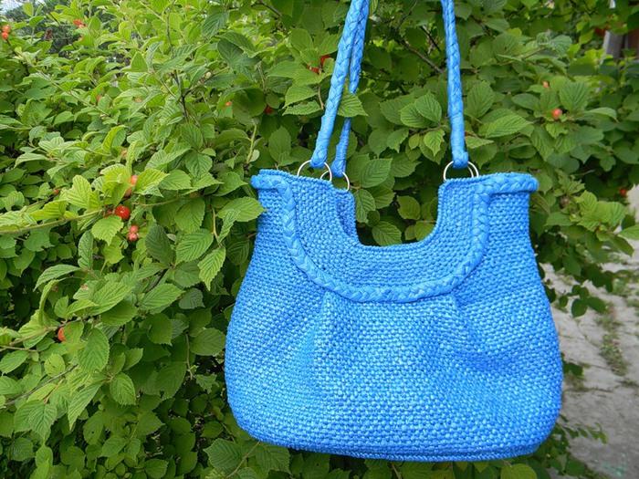 Вязание пакет для сумка 32