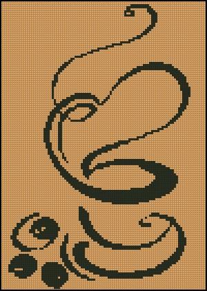 """вышивка """"чашка кофе"""" - Самое"""