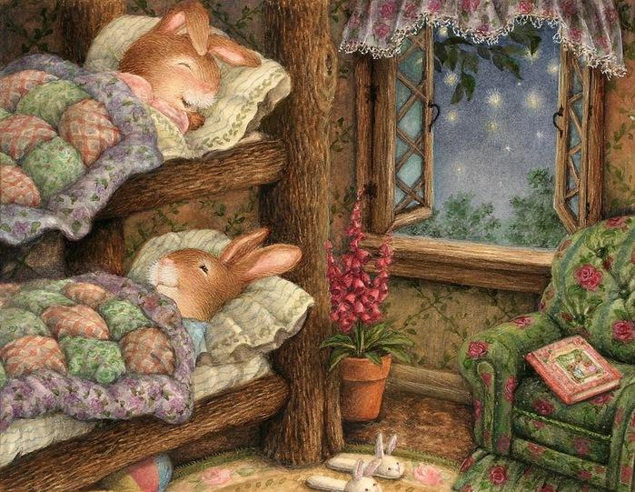 Teatime in the Garden Susan Wheeler (700x541, 196Kb)