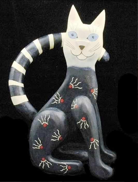 funky cat (533x700, 83Kb)