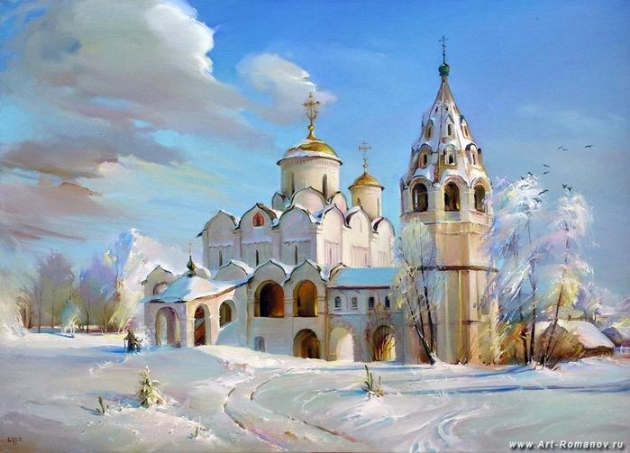 36642861_1Romanov_Roman_Suzdal_Pokrovskiy_sobor (699x503, 242Kb)