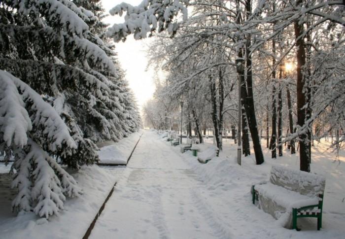 Зимний сейчас