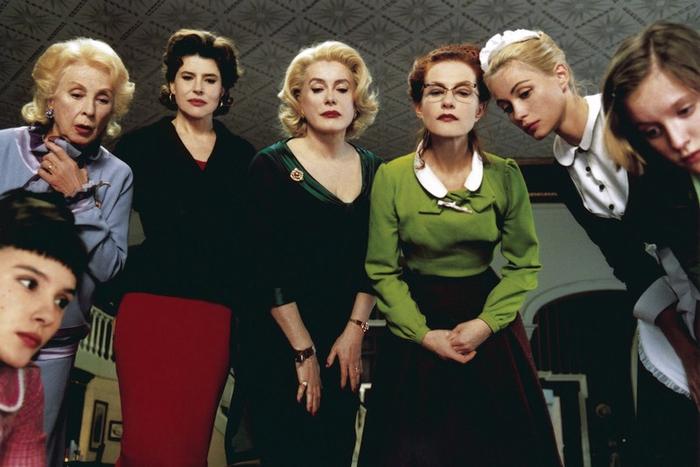 8 женщин фильм 2001 смотреть онлайн бесплатно